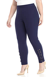 Ankle Lace Skinny Pants
