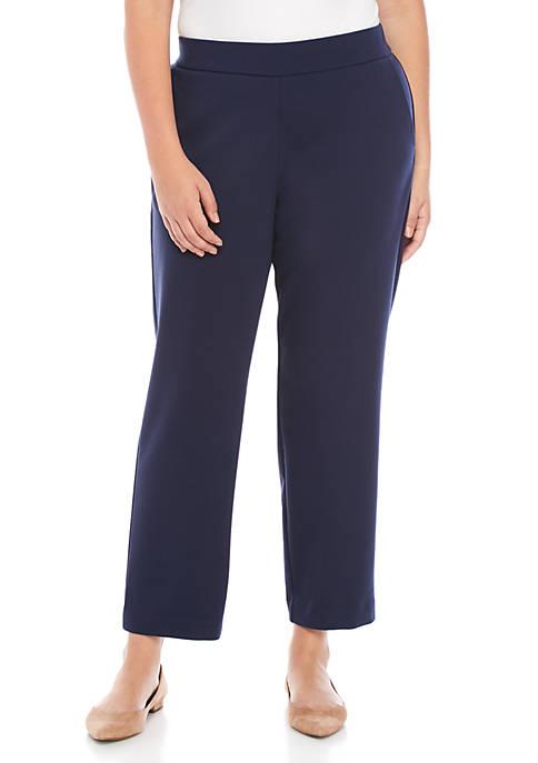 MICHAEL Michael Kors Plus Size Slim Ponte Pants