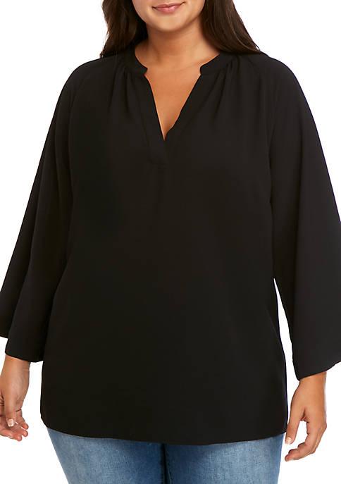 MICHAEL Michael Kors Plus Size Wide Sleeve Tunic