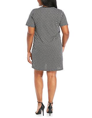 Plus Size Logo Dress