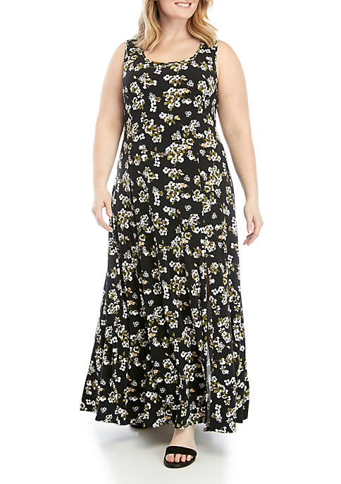 Plus Size Maxi Tank Dress