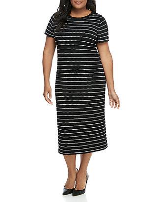 MICHAEL Michael Kors Plus Size Scallop Bodycon Dress | belk