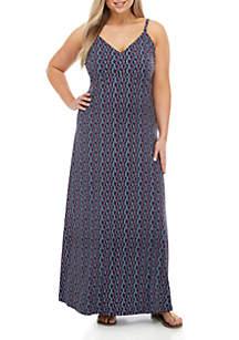 ea1956e286c8 ... MICHAEL Michael Kors Plus Size Printed Maxi Dress