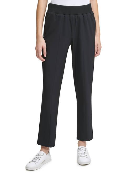 Calvin Klein Pull On Wide Waist Pants