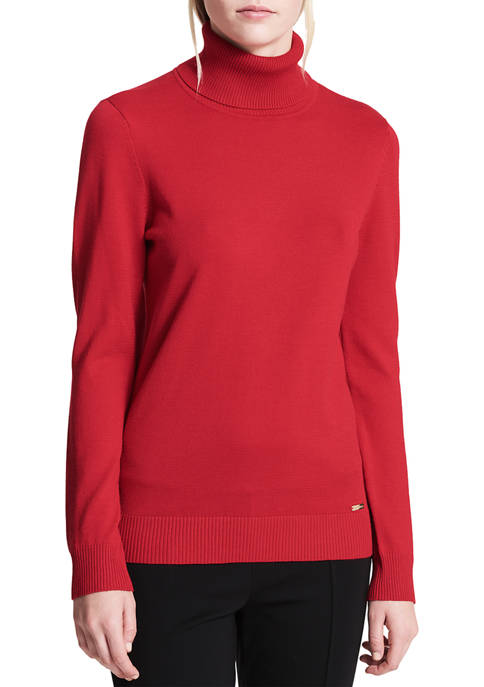 Calvin Klein Fine Gauge Turtleneck Sweater
