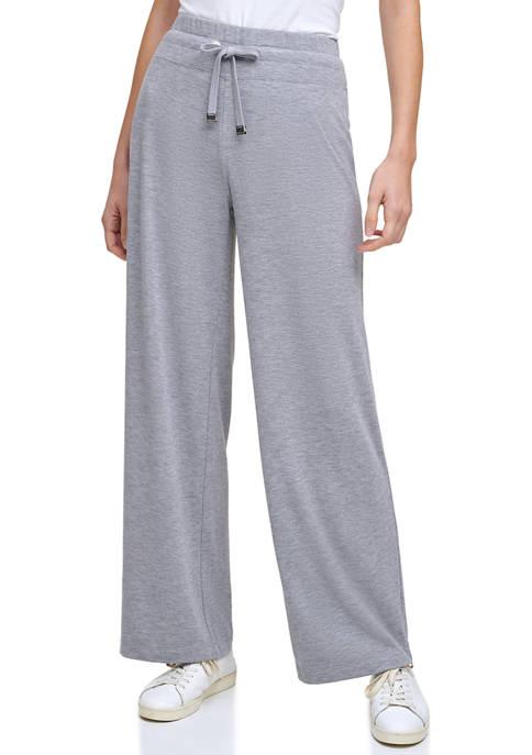 Calvin Klein Wide Leg Sweater Knit Pants