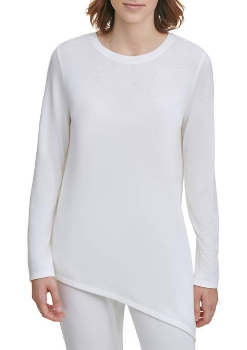 Calvin Klein Angled Bottom Knit Sweater