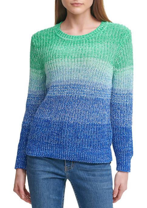 Calvin Klein Dip Dye Sweater