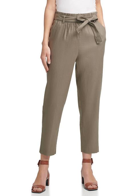 Calvin Klein Tie Waist Pants