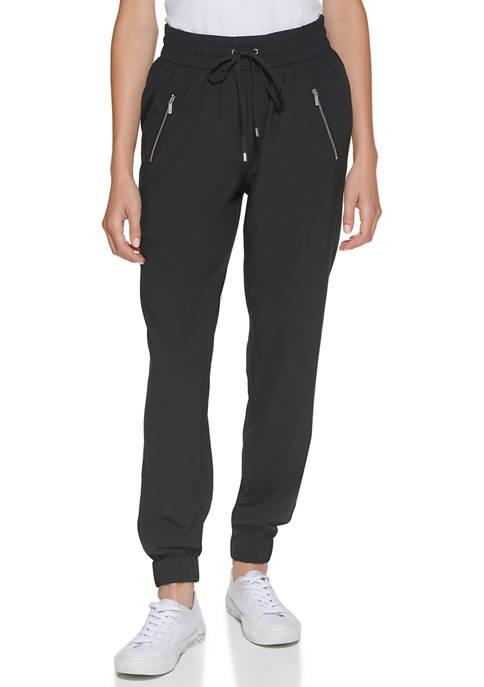 Calvin Klein Drawstring Joggers with Zip Detail
