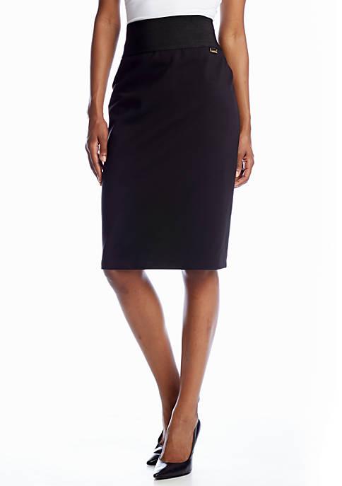 Calvin Klein Wide Waist Band Skirt