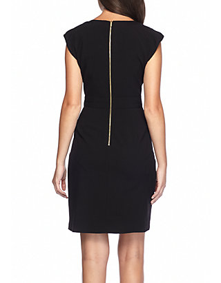 3f6f5688d5a Calvin Klein Gold Buckle Sheath Dress Calvin Klein Gold Buckle Sheath Dress