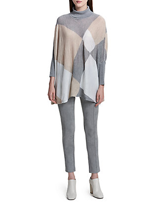 90b59471da Calvin Klein. Calvin Klein Turtleneck Cape Sweater