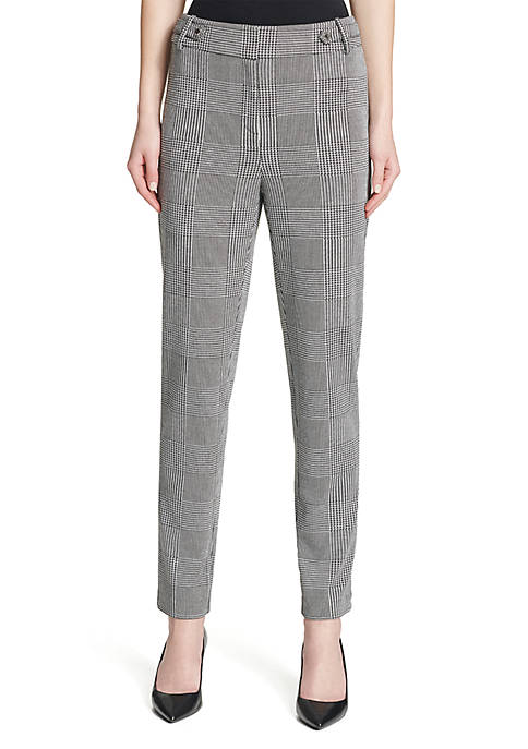 Calvin Klein Glen Plaid Pants