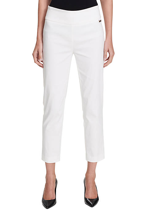 Calvin Klein Pull-On Crop Pants