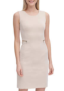84b66991 ... Calvin Klein Jacquard Sheath Dress