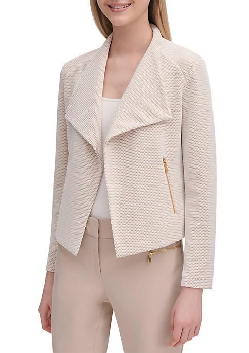 Calvin Klein Jacquard Flyaway Jacket