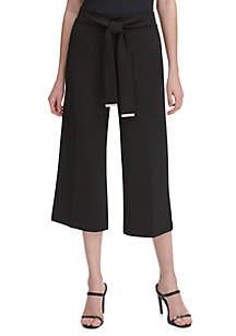 Calvin Klein Tie Belt Culottes