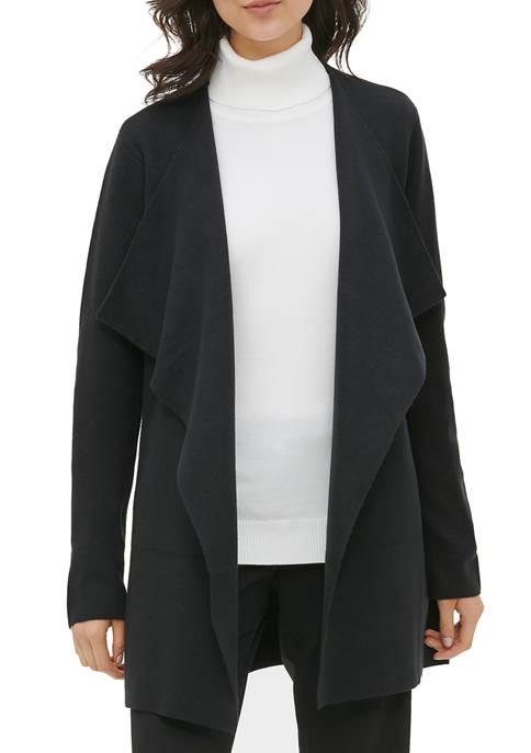 Calvin Klein Womens Flyaway Cardigan