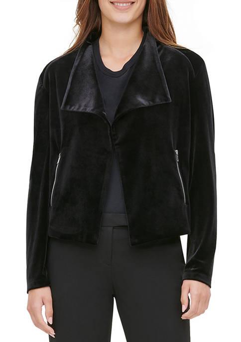 Calvin Klein Womens Flyaway Jacket