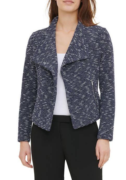 Womens Tweed Flyaway Jacket
