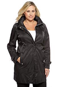 Plus Size Packable Jacket
