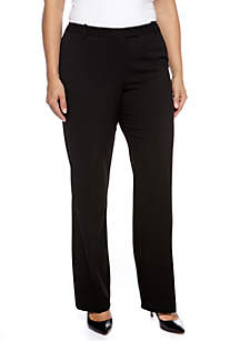 Plus Size Woven Madison Pant