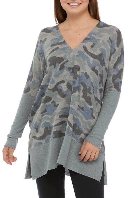 CHANCE OR FATE Juniors V-Neck Tunic