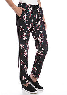 love, Fire Floral Track Pants