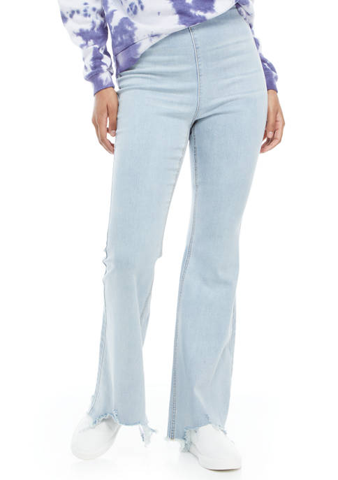 Tinseltown Pull On Flare Jeans