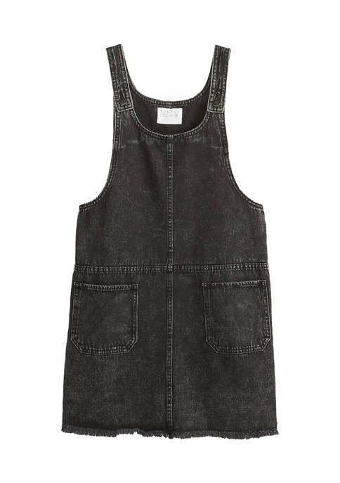 Fire Juniors Washed Black Tank