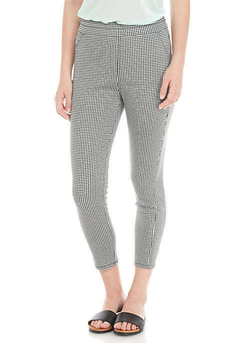 love, Fire Gingham Pull-On Pants