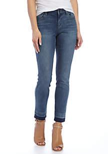 Skinny Ankle Dark Wash Jean