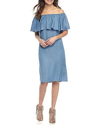 4d2df3a91a2 Sharagano Off The Shoulder Dress