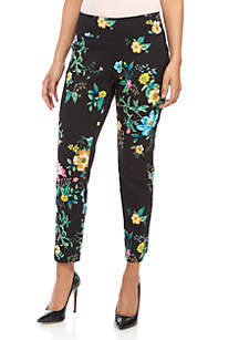 Sharagano Floral Pants