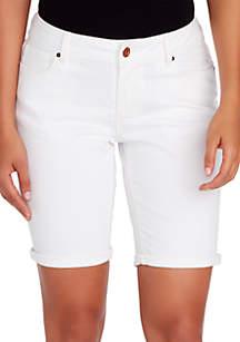 Boho Bermuda Shorts
