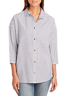 Gracie Cotton Stripe Top