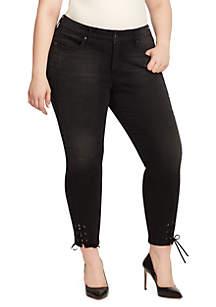 Plus Size Wonderland Skinny Ankle Jeans