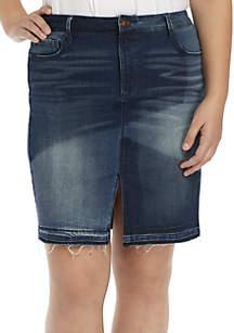 Plus Size Clarissa Pencil Skirt