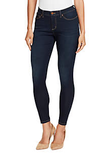 Petite Body Positive Seamless Skinny Jeans