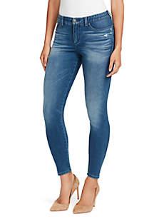 Petite Body Positive Seamless Skinny Jeans