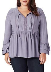 Plus Size Mera Dobby Knit Top