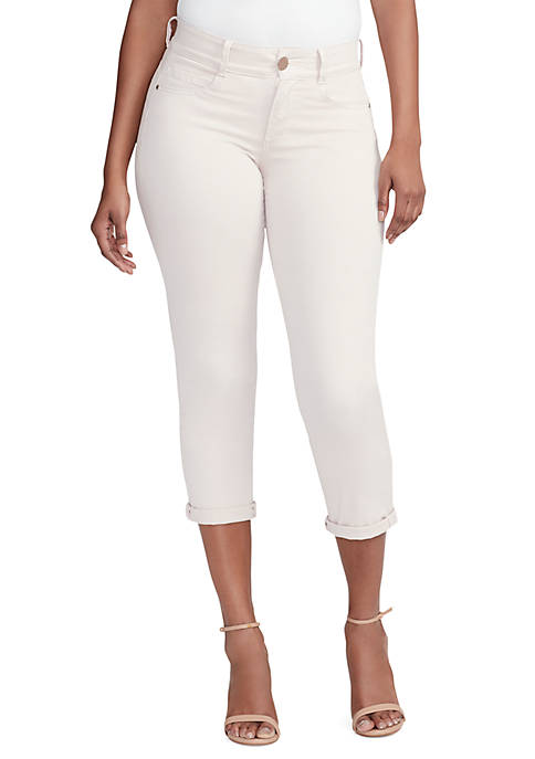 Body Sculpting Cropped Jeans