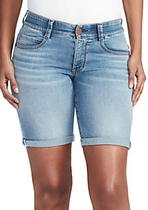 Vintage America Blues Body Sculpt Bermuda Shorts