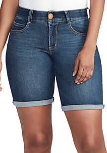 3fe288471 ... Vintage America Blues Body Sculpt Bermuda Shorts