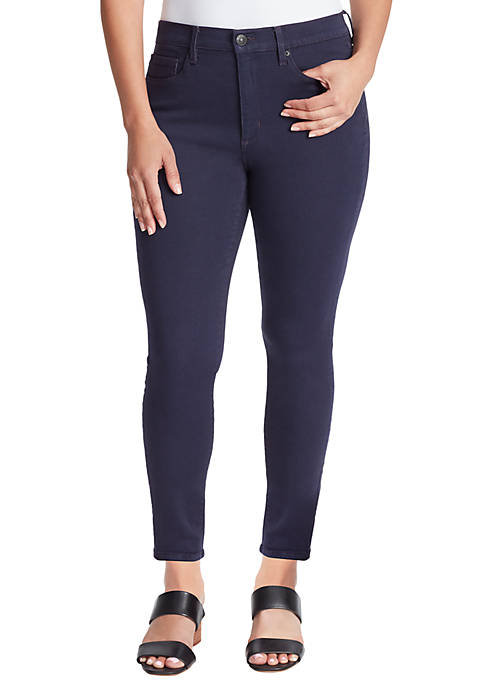 Classic High Rise Skinny Ankle Jeans