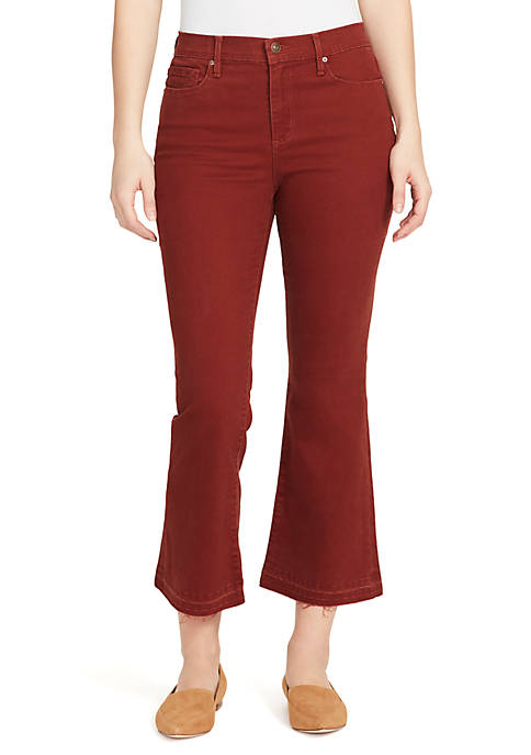 High Rise Kick Flare Jeans