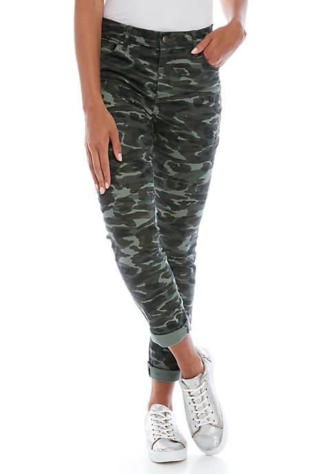 Womens Classic Camo Skinny Jeans