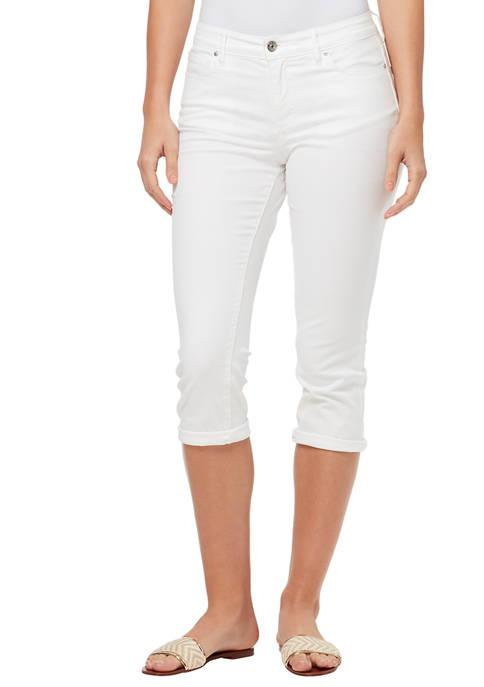 Womens Vintage Capri Pants