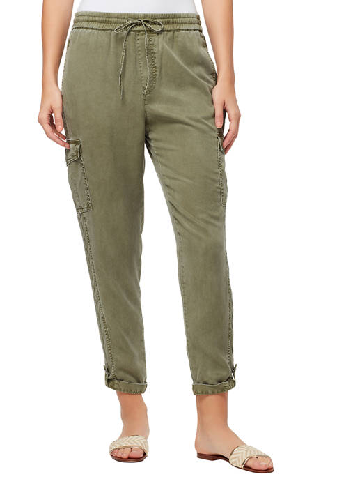 Vintage America Blues Womens Soft Cargo Pants